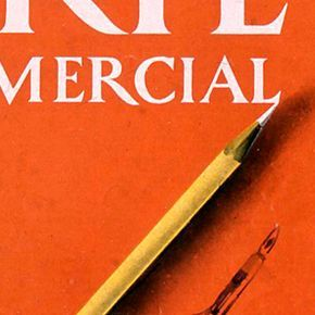 'Arte Comercial' magazine, advertising and organization?